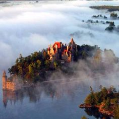 The Thousand Islands; Saint Lawrence River
