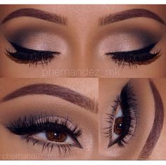 Eyes: @bhcosmetics @makeupbymandy24 Eye Shadow Palettes  Lashes: @ardell_lashes No. 118 an 'Wispies' Liner: Black