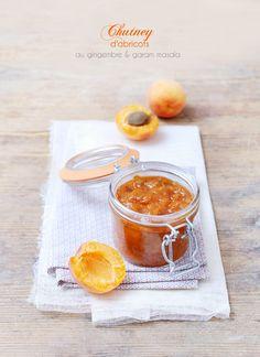 My Sweet Faery: Chutney d'abricots au gingembre et garam masala - Apricot chutney with ginger and garam masala
