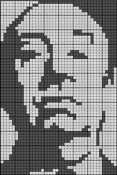 Alfred Hitchcock Beaded Cross Stitch, Cross Stitch Embroidery, Cross Stitch Patterns, Chart Maker, Snitches Get Stitches, Alpha Patterns, Alfred Hitchcock, C2c, Cross Stitching