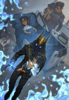 Anubis by Sliiva on FurAffinity Egyptian Mythology, Egyptian Art, Egyptian Jewelry, Fantasy Kunst, Dark Fantasy Art, Character Inspiration, Character Art, Arte Horror, Beautiful Drawings