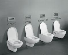 Toiletten van villeroy & boch. Bij Van Wanrooij keuken, badkamer & tegel warenhuys