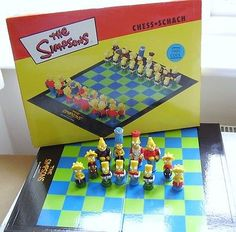 The #simpsons #chess set #..........100% cool!,  View more on the LINK: 	http://www.zeppy.io/product/gb/2/262180336267/