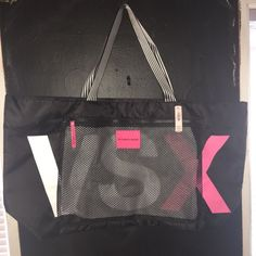 Brand new VS tote New with tags Victoria secret tote !Price not firm Victoria's Secret Bags Totes