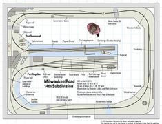 Ho Shelf Plan Train Layouts | ... the model railroad track plan for this HO scale model train layout