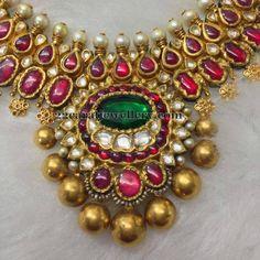 Jewellery Designs: Pretty Necklace by Sangita Jewellery