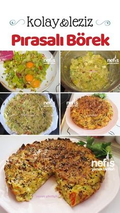 Low Calorie Recipes, Diet Recipes, Turkish Kitchen, Turkish Recipes, Pastry Recipes, Food Porn, Brunch, Food And Drink, Yummy Food