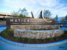 Natick Collection购物中心环境指示系统设计