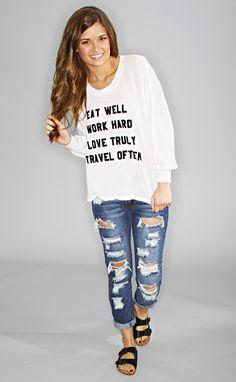 wildfox: mantra nevada jumper--Get 15% off + Free Shipping on ShopRiffraff.com when you use code 'RiffraffRepLauren' at checkout!