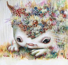 Yosuke Ueno aka è un giovane pittore giapponese vicino alla corrente Pop-Surrealista