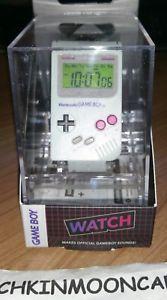 a reloj digital nueva en caja oficial nintendo retro lcd original game boy gameboy