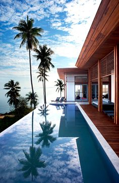 Beach house & pool exterior beach beautiful decor pool photo style stylish beach house ideas architecture design room ideas home ideas exterior exterior design ideas home design exterior design exterior ideas exterior room Beautiful Homes, Beautiful Places, Beautiful Beach, Hello Beautiful, House Beautiful, Dream Pools, Koh Samui, Samui Thailand, Thailand Retreat