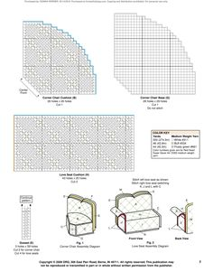 Fashion Doll Furniture Pg. 6 Barbie Furniture Tutorial, Diy Barbie Furniture, Dollhouse Furniture, Plastic Canvas Tissue Boxes, Plastic Canvas Crafts, Plastic Canvas Patterns, Interior Design Classes, Barbie Doll House, Plastic Doll