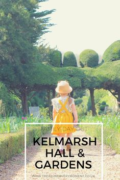 FAMILY DAY OUT: Kelmarsh Hall & Gardens with a Spring Wardrobe from Little Green Radicals