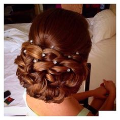 "320 Likes, 51 Comments - @weddinghairstyle on Instagram: ""#wedding #weddinghair #hair #hairstyle #bigday #bridesmaid #bride #groom #beautiful #gorgeous…"""