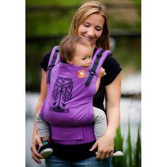 Tula Toddler - Porte-bébé Humming Birds Purple