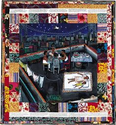 Faith Ringgold story quilts (a faithful attempt)