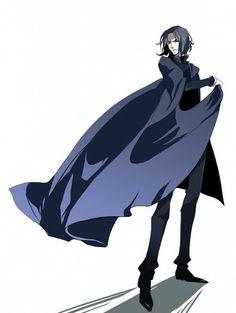 Severus Snape, anime style