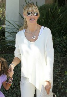 Heidi Klum - Heidi Klum & Family Out Shopping In Brentwood