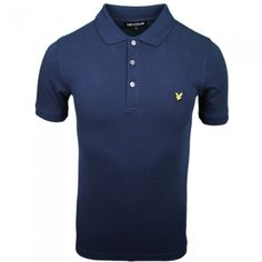 Lyle & Scott Vintage Polo Shirt for Men in Navy Blue | Available at www.designer-man.co.uk #designer #menswear #mens #fashion #style #classic #trends