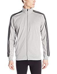 adidas Men's Athletics Essential Track Jacket, Medium Grey/Black Heather, XX-Large: At adidas, everything we do is bound by one simple thought: we strive to help you perform at your best. Your success is our ambition. Your defeat Spurs us on to be better. Adidas Nmd_r1, Pink Adidas, Adidas Shirt, Adidas Jacket, Nmd R1, Bape, Adidas Tubular Nova, Tricot Fabric, Cool Jackets