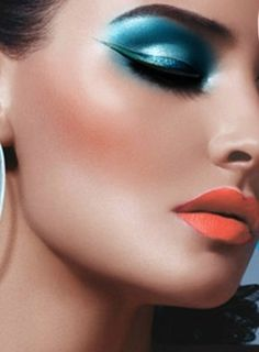 make-up stunning and bright...beauty and cosmetics (makeup)
