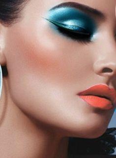 make-up stunning and bright