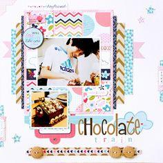 Yohko Takiguchi_chocolate train_layout