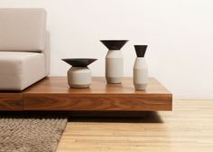Spanish-Mexican studio LaSelva has released a collection of small concrete accessories for the home in collaboration with designer Iván Zúñiga.