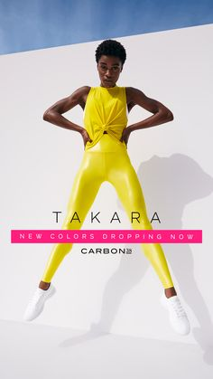 The weather is heating up, and so are our best-selling Takara leggings. Introducing our newest shades Hyper Pink and Sunny Yellow. Pair with a matching top or citrusy cocktail. Yoga Leggings, Workout Leggings, Yoga Pants, Cheap Leggings, Fashion Poses, Yoga Fashion, Women's Fashion, Fashion Blogs, Ladies Fashion