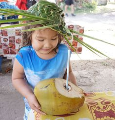 Fresh coconut in the markets of Lifou, New Caledonia Bali With Kids, Travel With Kids, Wake Island, Flying With Kids, Norfolk Island, Family Destinations, Christmas Island, Easter Island, Holidays With Kids