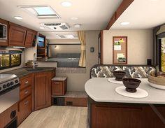 2017 Lance 995 interior, http://www.truckcampermagazine.com/news/2017-lance-camper-announcements/