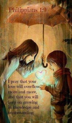 Evening Prayer Time: Philippians 1:9