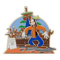 Goofy at Splash Mountain Pin