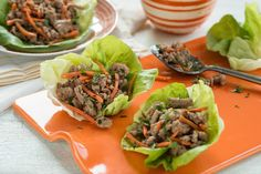 Thai Turkey Lettuce Wraps Recipe http://www.yummly.com/recipe/Thai-Turkey-Lettuce-Wraps-761815