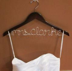"""makes your """"dress on the hanger"""" pic so cute!"""