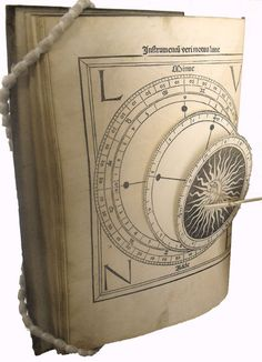 El 3D y los pop-ups parecen un invento de anteayer pero ni mucho menos es así. Este pop-up fue impreso en 1482, muy poco después de que Gutenberg inventara la imprenta. El ejemplar muestra el movimiento de la luna con la ayuda de una una serie de ruedas de papel que flotaban delante de la página. Es sorprendente que con solo dos décadas de experimentación con la imprenta pudiera crearse algo así, un libro que puede considerarse como uno de los primeros pop-ups del mundo occidental.