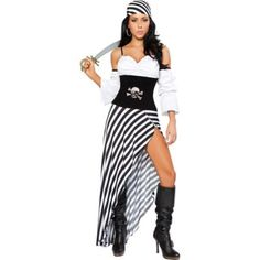 Check out Sexy Pirate Lass Costume - Sexy Pirate Halloween Costumes from Costume Super Center Costume Sexy Pirate, Costumes Sexy Halloween, Adult Costumes, Costumes For Women, Pirate Costumes, Diy Pirate Costume For Women, Halloween Party, Girl Halloween, Women Halloween