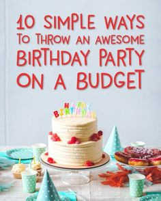 17 ideas baby boy birthday party ideas first budget for 2019 Baby Boy Birthday, Boy Birthday Parties, 30th Birthday, Birthday Celebration, Party Food On A Budget, Birthday Activities, Ideas Party, Inexpensive Birthday Party Ideas, Frugal Living