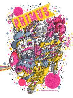 Concert Poster: Primus - Missoula, Montana
