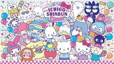 Little Twin Stars Wallpaper 2019 八月桌布 日本草莓新聞 Stars Wallpaper, Sanrio Wallpaper, Cute Disney Wallpaper, Hello Kitty Wallpaper, Wallpaper Iphone Cute, New Wallpaper, Hello Kitty Characters, Sanrio Characters, Hello Sanrio