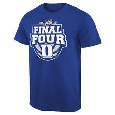 1d3e7e5df0e Duke Blue Devils Duke 2015 NCAA Basketball Final Four T-Shirt Final Four  Basketball