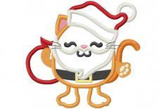 Hang to Dry Applique - Santa Kitty, $3.99 (http://www.hangtodryapplique.com/santa-kitty/)