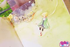 Little Prince Illustrated by Kim Min Ji