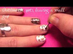 Leopard Nails Tutorial :)