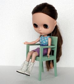 playscale armchair for #playscale #dolls like #blythedoll by #minimagine