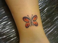 I am not a butterfly fan, but this one is really cute!