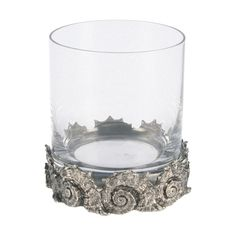 Vagabond House Double Old Fashioned Glass (4) -Shell ($157) ❤ liked on Polyvore