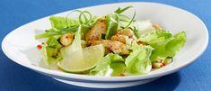 Salada de frango picante - Lucilia Diniz
