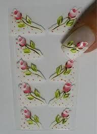 Resultado de imagem para cartela de adesivo de unha caseiro